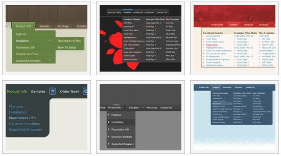 Joomla Tree Menu Web Browser Tasten