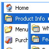 Taskbar Start Menu Java Script Drop Down Menue