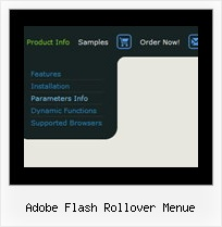 Adobe Flash Rollover Menue Start Menue In Vista Style