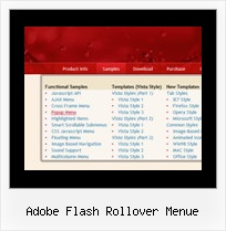 Adobe Flash Rollover Menue Javascript Menue Scrollen