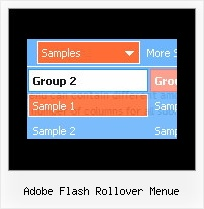 Adobe Flash Rollover Menue Ajax Menu Joomla