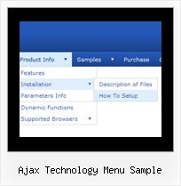 Ajax Technology Menu Sample Menu Muster
