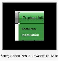 Bewegliches Menue Javascript Code Create Menue Html