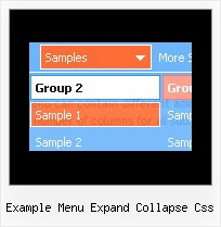 Example Menu Expand Collapse Css Multilevel Css Menue
