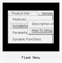 Flash Menu Css Senkrechtes Submenue