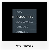 Menu Knoepfe Vista Mac Menue