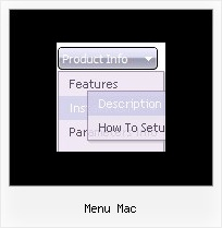 Menu Mac Hierarchical Menu Sql