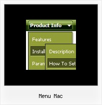 Menu Mac Horizontal Menu Firfox