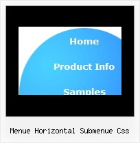 Menue Horizontal Submenue Css Jquery Multiple Pulldown Menue