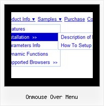 Onmouse Over Menu Toggle Menu Template Kostenlos