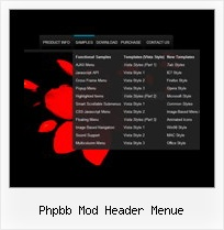 Phpbb Mod Header Menue Rollover Css Submenue Ie6
