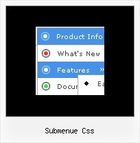 Submenue Css Dynamisches Menue Html