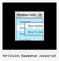 Vertikales Baummenue Javascript Menu Mysql Example