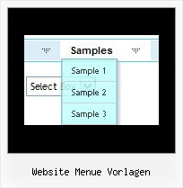 Website Menue Vorlagen Css Submenu Horizontal