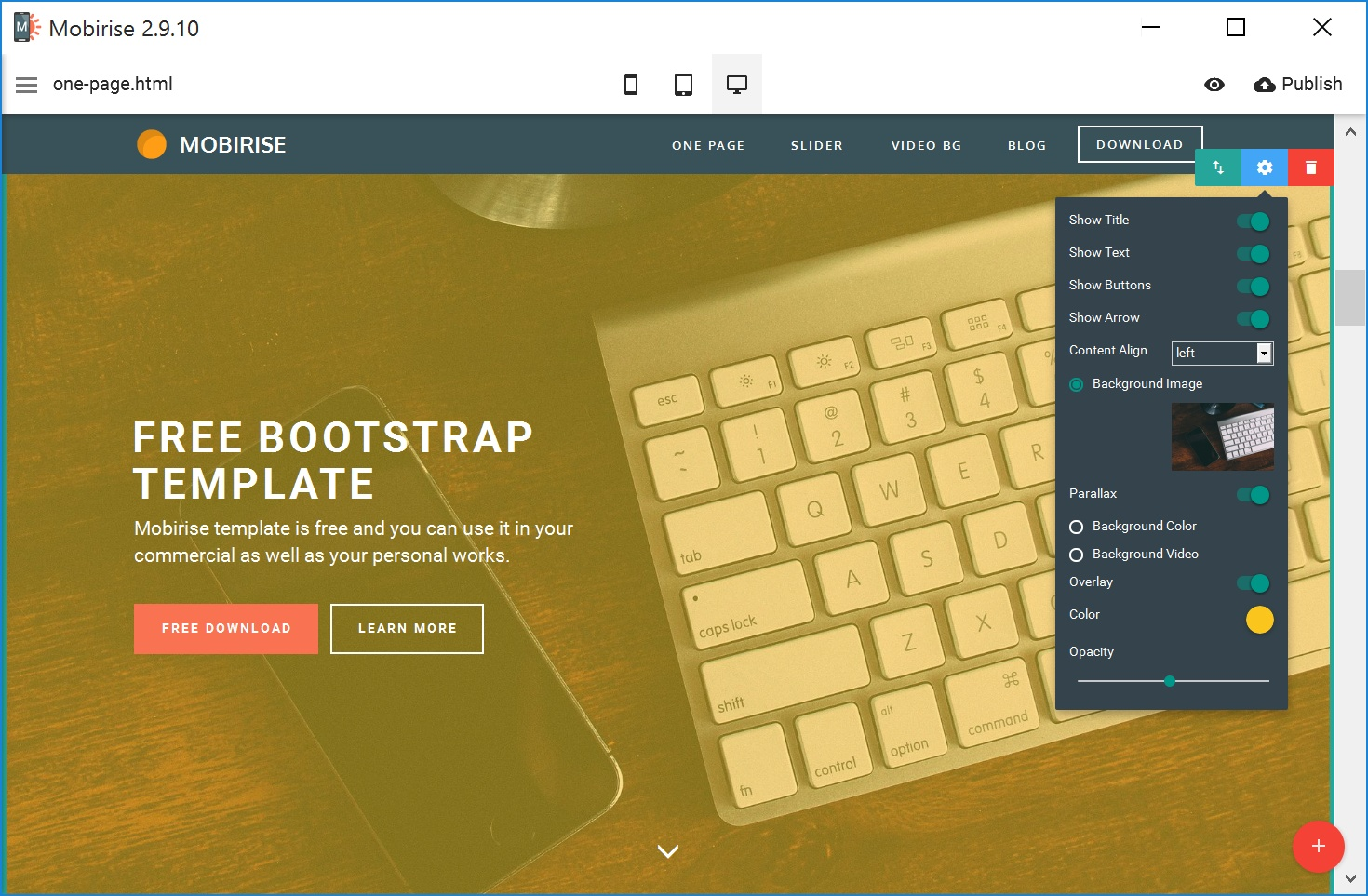 Responsive Mobile Website Generator Software