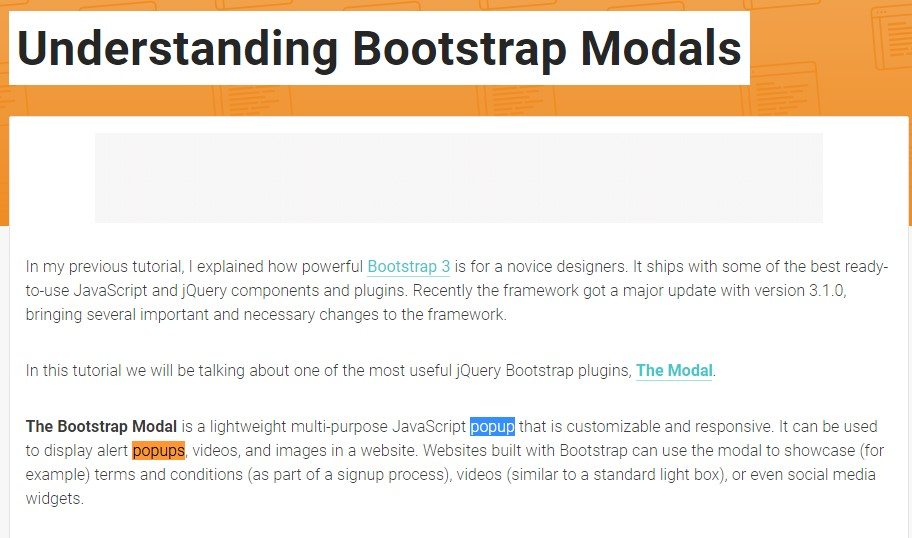 One more  practical  content  relating to Bootstrap Modal Popup