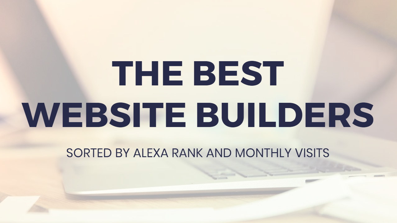 Absolute best Website Builders