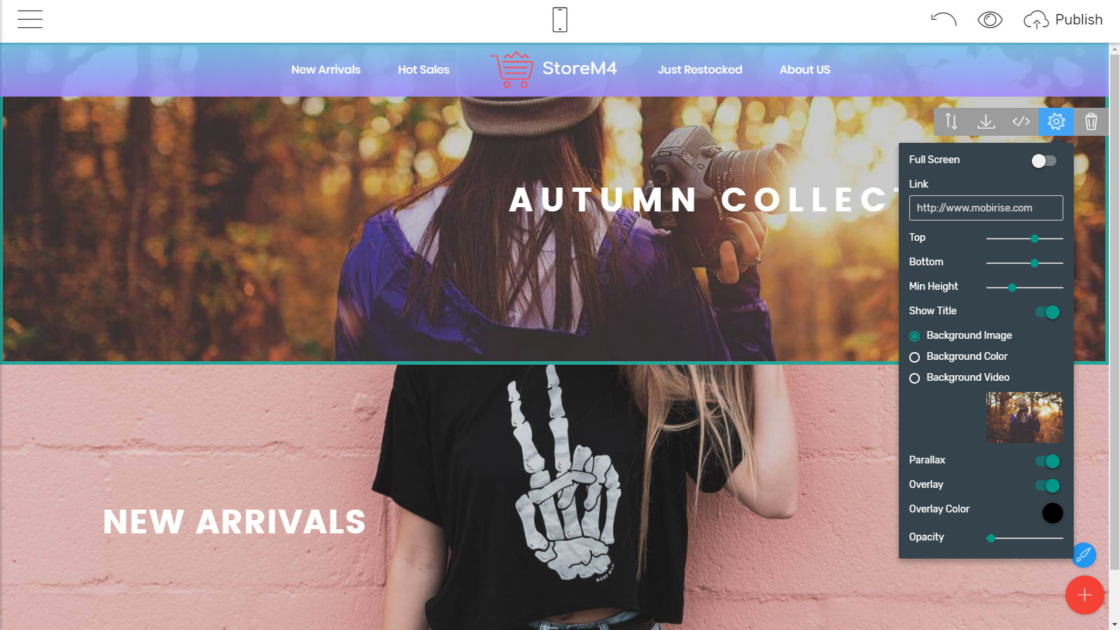 bootstrap webpage themes