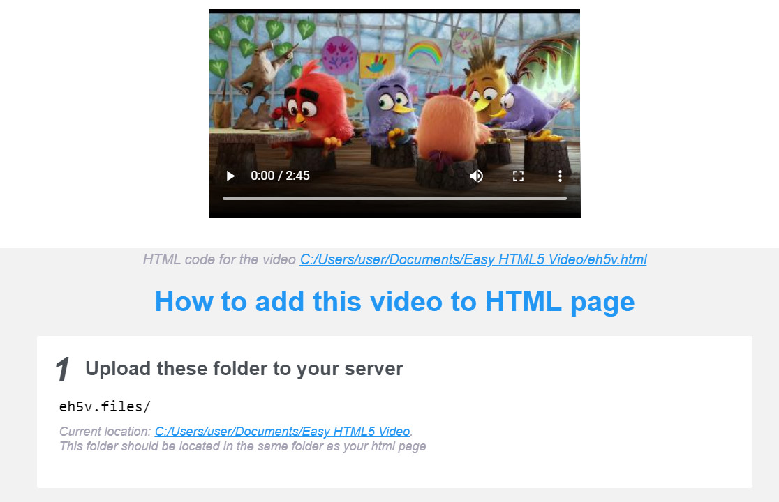 html video autoplay