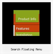 Search Floating Menu Vertikalen Navigationsmenues